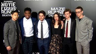 Maze Runner: The Death Cure | LA Premiere with cast Interview