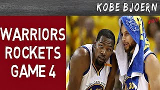 Warriors vs Rockets - Spiel 4 - NBA Playoffs Spielbericht - KobeBjoern uncut