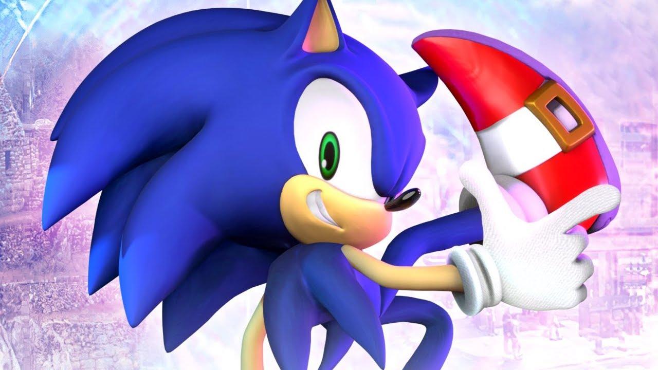 Modern Sonic in Sonic Adventure