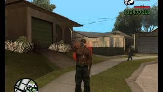 Gta sa pee,sit,smoke,drink and puke mod