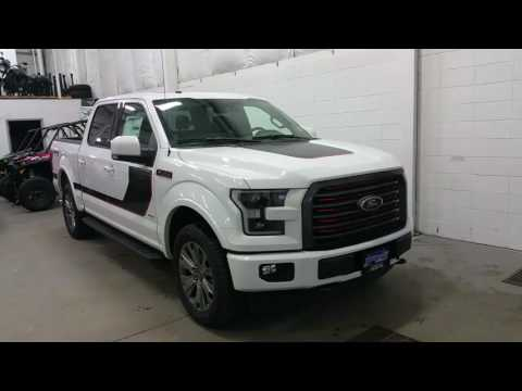 2017 Ford F150 Lariat Special Edition W/ LED Headlamps, Body Side Decals Review | Boundary Ford