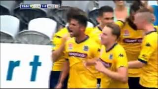 Fabio Ferreira metió un gol...y encima ligó un beso