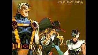 Marvel vs Capcom 2 - Ruby Heart, Cable, Hayato gameplay (Part 1 of 2)