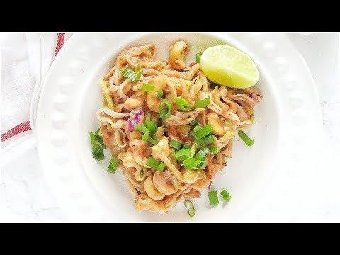 Healthy Pad Thai Recipe | easy paleo recipes
