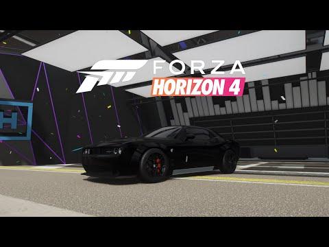 Dodge Challenger SRT Hellcat - Liberty Walk - Forza Horizon 4 [1440p - ULTRA]
