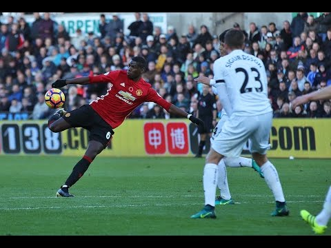 Swansea City 1-3 Manchester United | Goals; Paul Pogba, Zlatan Ibrahimovic | REVIEW