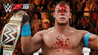 WWE 2K16 JOHN CENA EXTREME MOMENTS! (PS4/XboxOne!)
