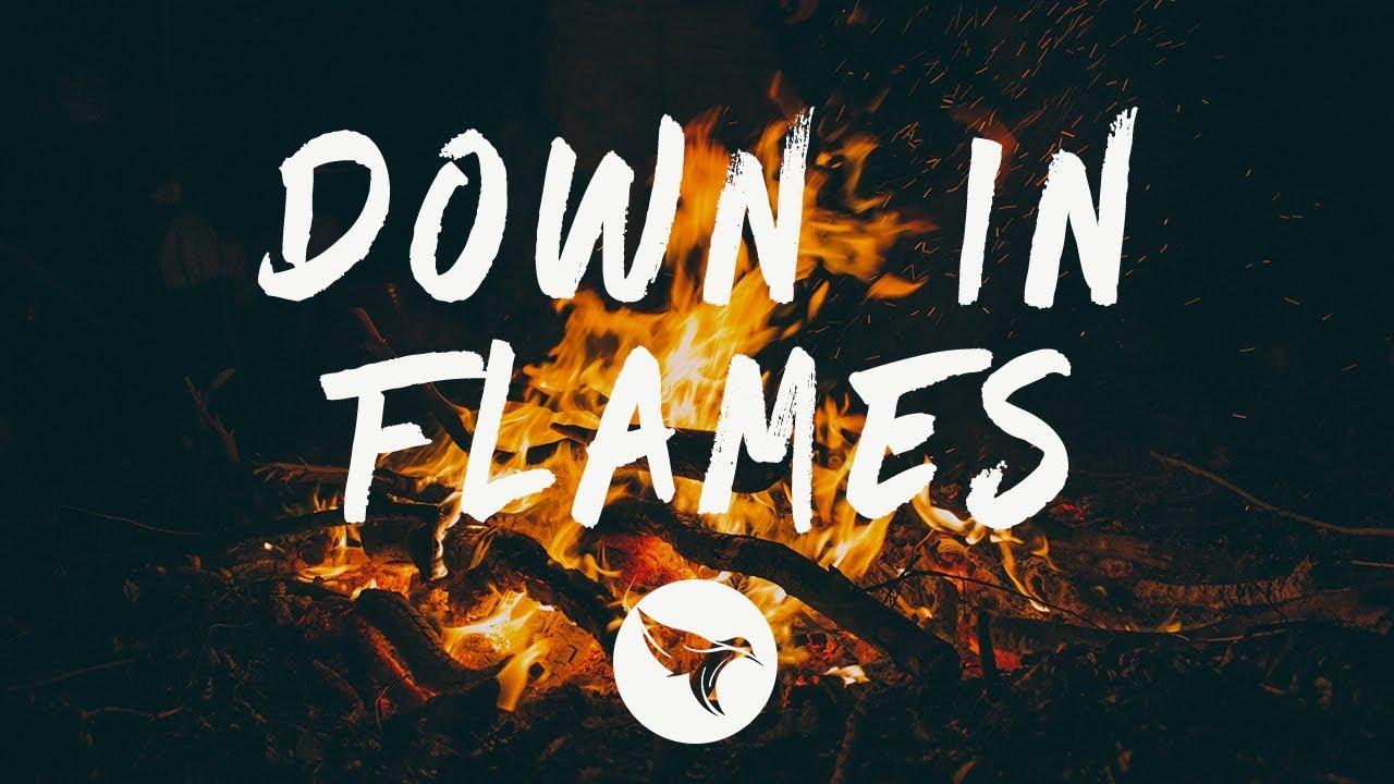 AJ Mitchell - Down In Flames (Lyrics) - YouTube