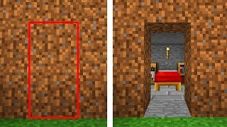 secret entrances you can make in minecraft pocket edition xbox switch pc