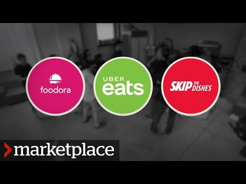 Testing Uber Eats, Foodora and SkipTheDishes (Marketplace)