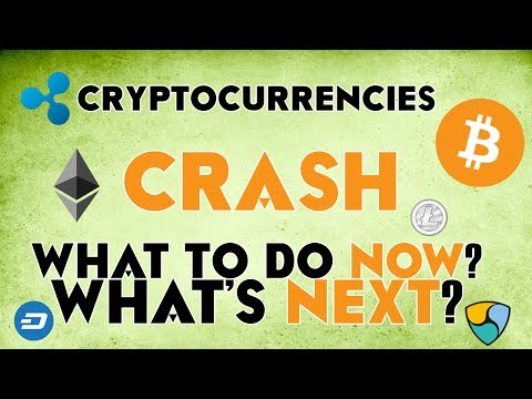 Cryptocurrencies CRASH - What's next? What to do now? Forecasts