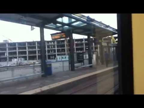 METRO Blue Line Light Rail Target Field Station to Mall of America Station 7/21/15 HD