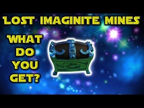 Skylanders Imaginators - Lost Imaginite Mines Platinum Imaginite Chest... WHAT DO YOU GET??