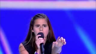 13 Yaşındaki Muhteşem Ses Jüriyi Ayağa Kaldırdı