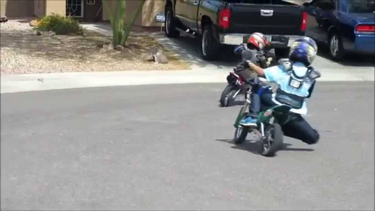 Kids Motorcycle Race VLOG 11 JoKeR Racing Brothers - YouTube