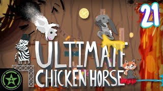 WORST IS FIRST - Ultimate Chicken Horse Month (#21) | Let's Play