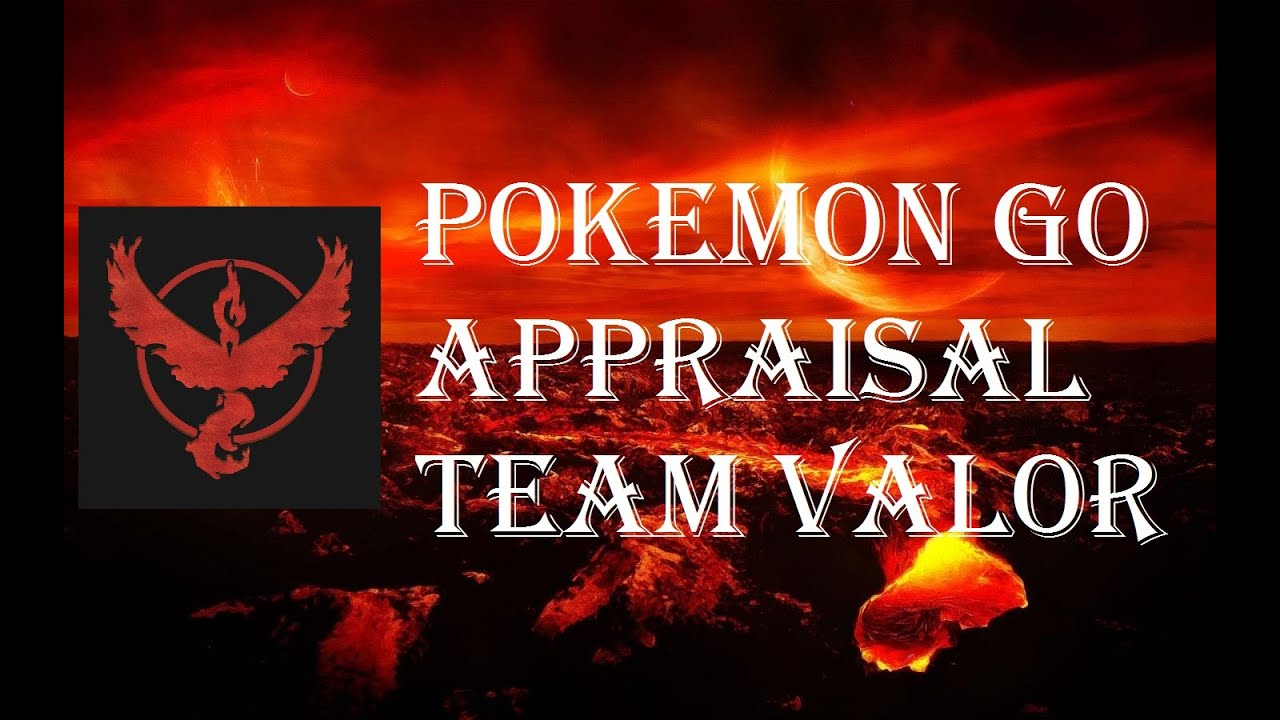 pokemon go appraisal feature iv checker team valor candela