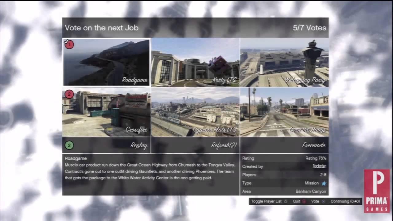GTA 5 Online: Jobs - Crew vs Solo