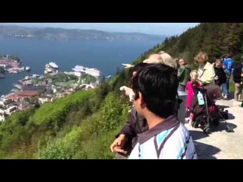 Beautiful Bergen, Norway.