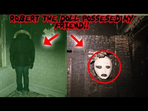 MY FRIEND WAS POSSESSED BY ROBERT THE DOLL! ( CAUGHT ON CAMERA) | MOE SARGI