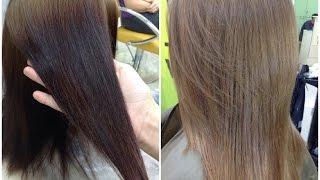 ЗМИВКА ЧОРНОГО КОЛЬОРУ волосся // Забарвлення в натуральний колір // CLEANING OF BLACK COLOR from hair