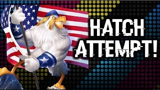 Angry Birds Evolution - Captain Freedom Hatch Attempt!