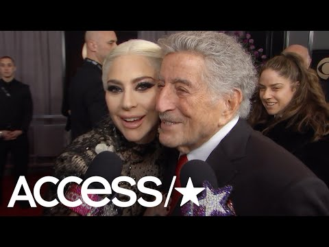 Watch Lady Gaga Adorably Crash Tony Bennett's 2018 Grammys Interview | Access