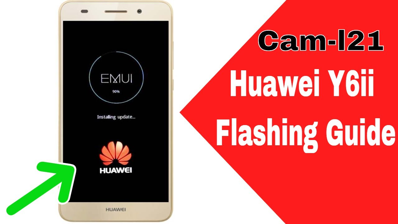 How To Flash Huawei Cam-L21 By Sd Card (Stuck At Recover Mode) Fix Easily