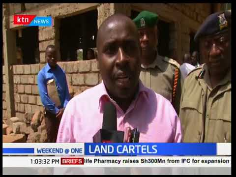 Thika security flush out land brokers operating outside the Thika lands office