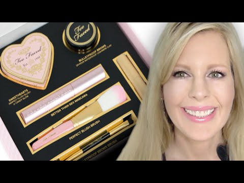 Too Faced All You Need is Love & Makeup Product Review