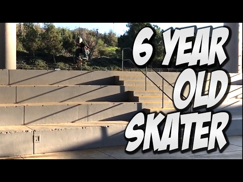 INCREDIBLE 6 YEAR OLD SKATER TRAE MONTGOMERY SKATES RINCON BIG 4 !!!!