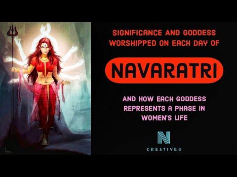 Significance of Navaratri | Goddess worshipped on each day of Navaratri