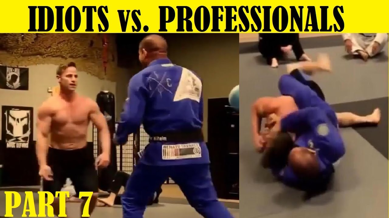 Download Top 7 Idiots Who Challenged Professional Fighters - Part 7