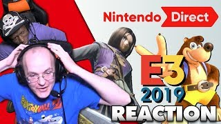 Mew2king, Salem & Domo React to the E3 2019 NINTENDO DIRECT [06.11.19]