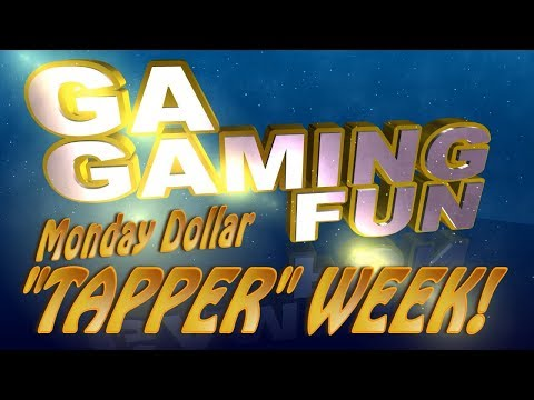 """TAPPER"" WEEK... $10 WORTH OF $1 GA ONLINE GAMES. Plus, 2 Cash Reserves & 1 Lucky No. 7!"
