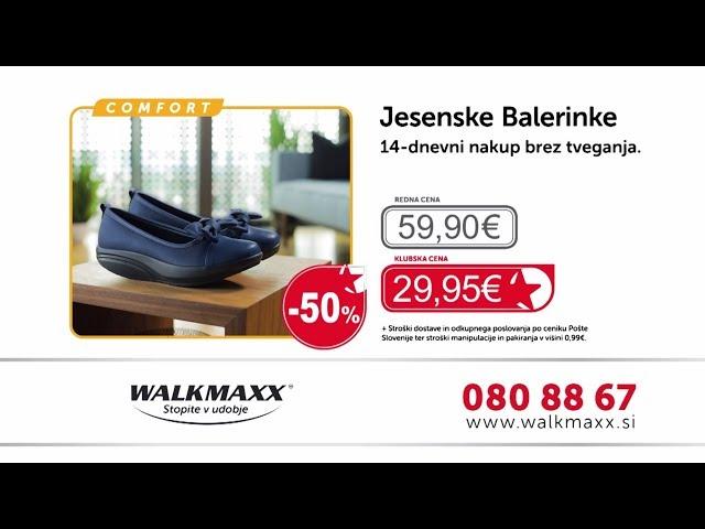 Walkmaxx jesenske balerinke Comfort