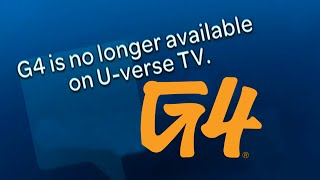 G4TV Goes Off The Air (12-31-14) [DVR Recording]
