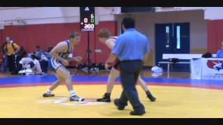 Aaron Briggs dec. Matt Thomas - FILA Jr WTT Greco prelims at 74 kg