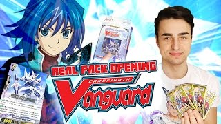REAL PACK OPENING CARDFIGHT VANGUARD, la mia nuova PASSIONE! | Vanguard Ita