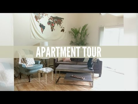 Minimalist Apartment Tour (1 Bedroom Loft)