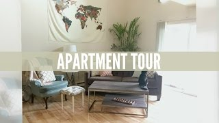 Minimalist Apartment Tour (1 Bedroom Loft)