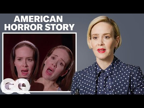 Sarah Paulson Breaks Down Her Most Iconic Characters | GQ ...