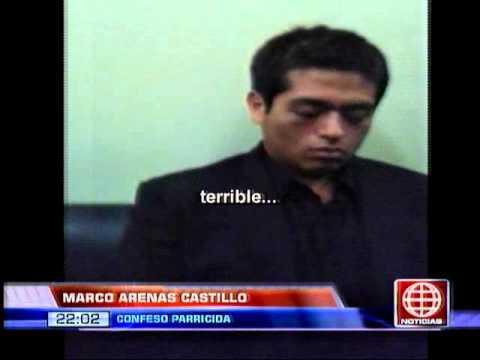 América Noticias - 141113 - Arenas confesó que amenazó a su pareja tras crimen