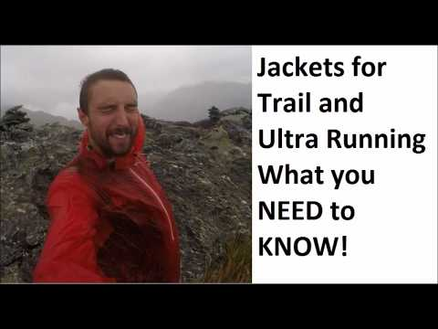 Waterproof Jackets For Ultra And Trail Running