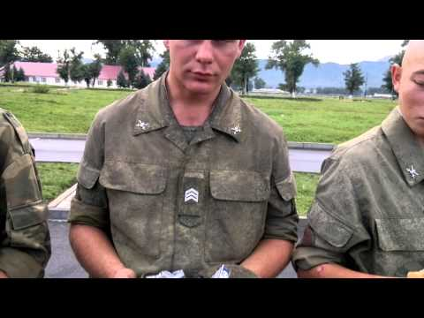 утренний осмотр в армии