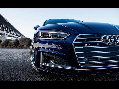 The new 2017 Audi S5 Coupé (354hp, V6 Turbo) - Driving, Exterior, interior, details etc