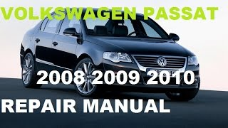 видео Volkswagen repair manuals