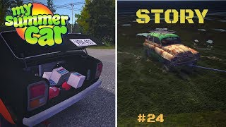 Removing the wasps, shopping - My Summer Car Story #24