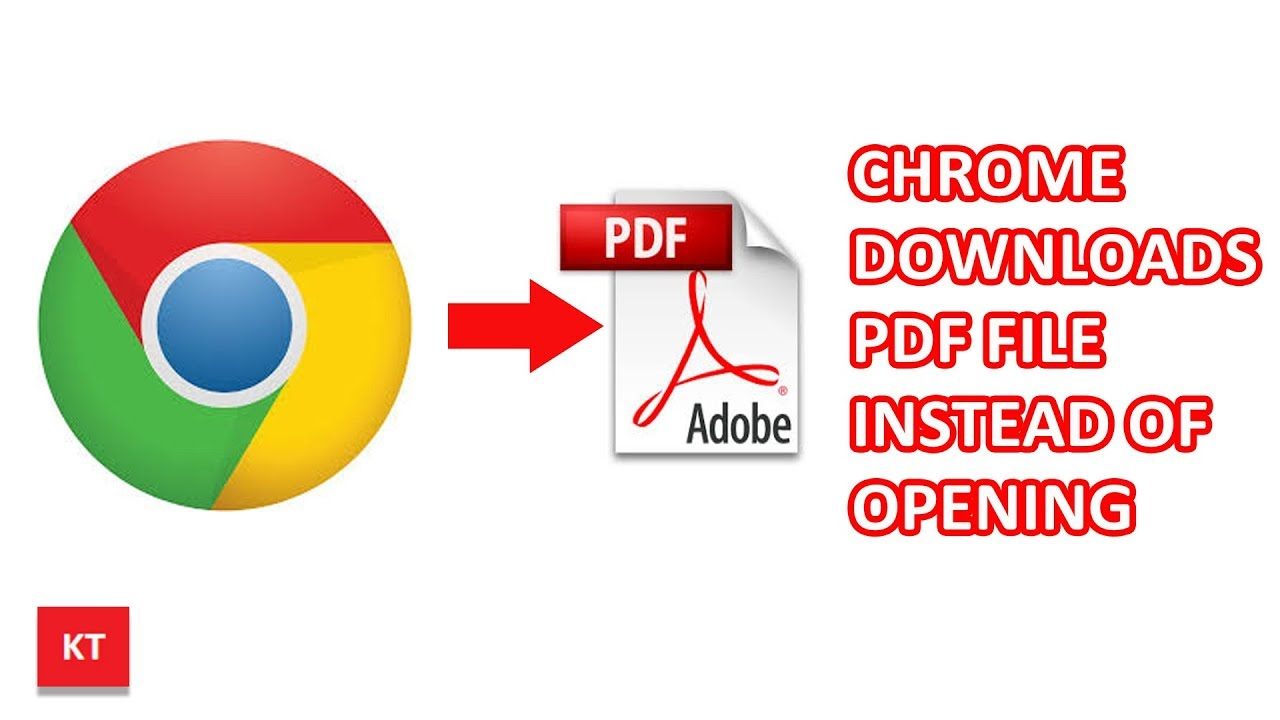 Chrome downloads PDF instead of opening