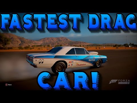 Forza Horizon 3: 270+ MPH FASTEST DRAG CAR! - (Dodge Dart Super Stock)